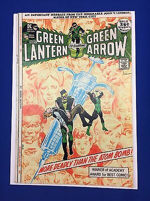 Green Lantern #86 - 1971 Neal Adams - Anti-Drug Issue