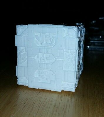 resin borg tactical cube