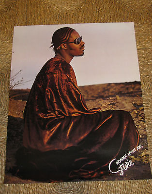 STEVIE WONDER LOVES YOU TALKING BOOK POSTER super rare innervisions motown