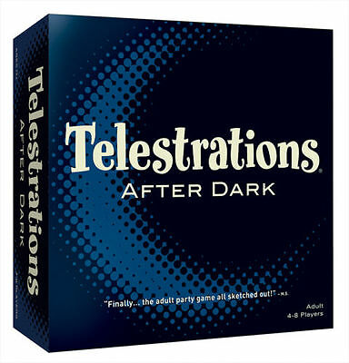 "New - Telestrations After Dark Board Game ""The Adult Party Game"""