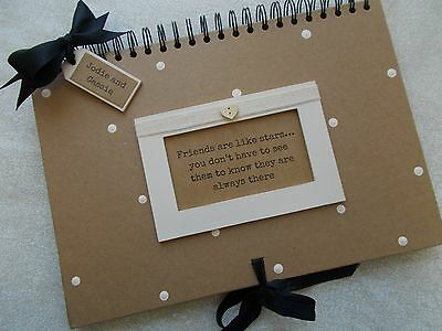 Personalised Friendship Memory A4 Scrapbook Photo Book Any Occasion
