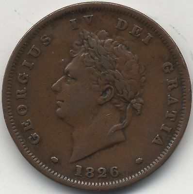 1826 George IV Penny***Collectors***(5)