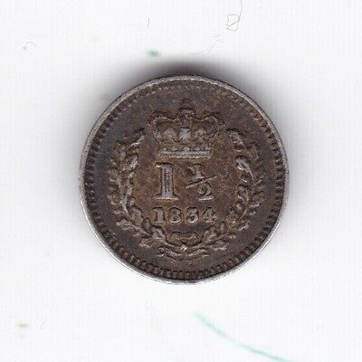 1834 William IV Threehalfpence***Collectors***