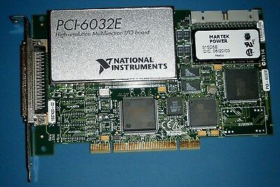 NI PCI-6032E 16-Channel Multifunction DAQ National Instruments *Tested*
