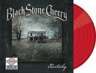 Black Stone Cherry - Kentucky - RED LP Vinyl - 180 Gr - Ltd Edition - SEALED.