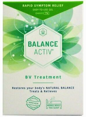 Balance Activ BV Treatment Vaginal Gel 7 Tubes Rapid Symptom Relief
