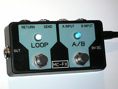 MC-FX  A/B Input Select & Single Looper Two functions in one unit