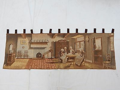 Vintage French Beautiful Scene Tapestry 140X46cm (T1158)