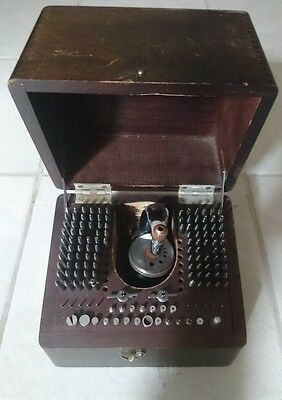 Vintage KD Inverto No. 18 Staking Tool Kit for Watchmaker. Excellent Cond.!!