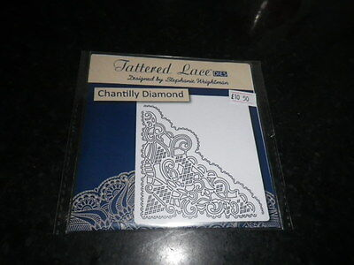 Tattered Lace Chantilly Diamond  die