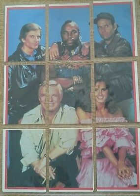 A-Team 1983 Full Set + Stickers