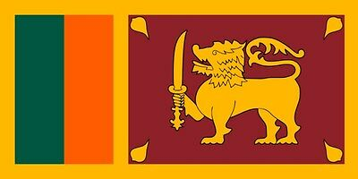 NEW IN BAG 3'X5' FLAG FROM Sri Lanka