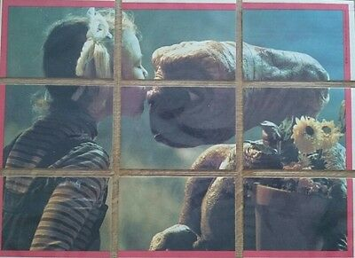 E.T. The Extra-Terrstrial 1982 Cards. Full Set + Stickers