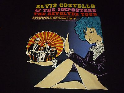 Elvis Costello 2011 Tour Shirt ( Used Size L ) Very Nice Condition!!!