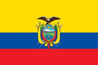 NEW IN BAG 3'X5' FLAG FROM Ecuador