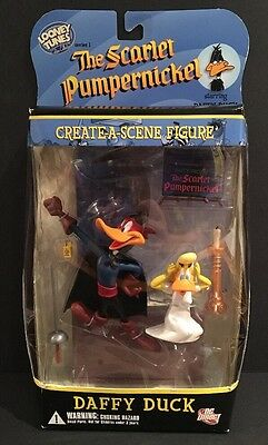 """Daffy Duck The Scarlet Pumpernickel DC Direct Looney Tunes 5"""" Action Figure"""
