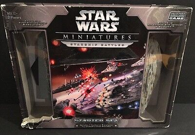 Star Wars Miniatures Starship Battles 2 Player Starter Set 2006 RARE