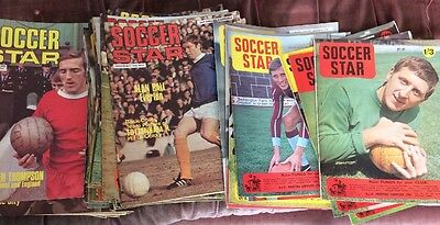 Soccer Star Magazine - 1967 - 1970 - Various Copies Within The Years