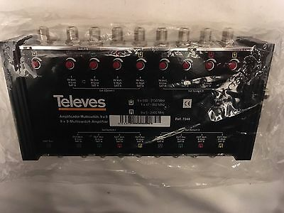Televes AmplificadorMultiswitch 9 X 9 Multiswitch Amplifier