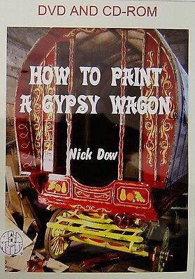 How to Paint a Gypsy Wagon DVD and CD-Rom. (Please see notes)