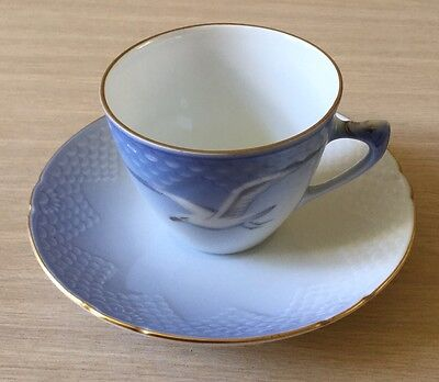 Bing & Grondahl Seagull Pattern Coffee Cup And Saucer