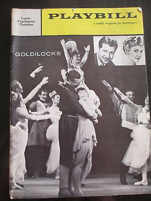 Playbills (6) - Goldilocks - The Pleasure Of His Company - A Touch Of A Poet Etc
