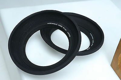 Vivitar Superwide Wideangle 67mm Collapsible Lens Hood Japan NOS Minty