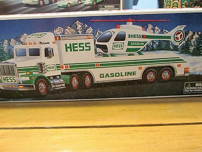 1995 Hess Toy Truck and Helicopter - Brand New in Undamaged Box - Mint Condition