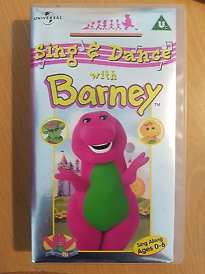 Barney - Sing And Dance With Barney - Children's VHS Video Tape