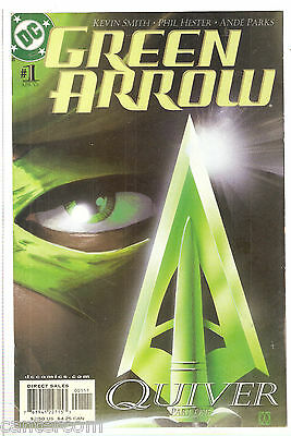 Green Arrow #1 VF/NM 2001 DC Kevin Smith Phil Hester
