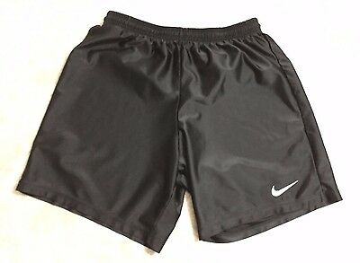 Boys Youth XL (18-20) Nike Shorts Silky Shiny Smooth Black Mens Size Small S