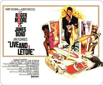 James Bond 007 Live And Let Die Mouse Mat