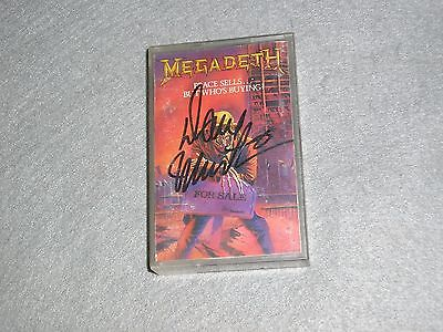 Dave Mustaine Autographed Signed MegaDeth Peace Sells But Who's Buying Album