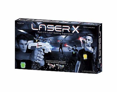 LASER X - 2 Player Real Life Laser Gaming Experience NEW