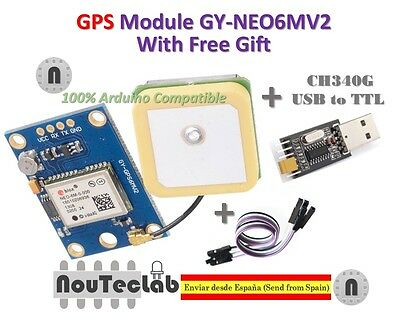 GY-NEO6MV2 NEO-6M GPS Module NEO6MV2 with Flight Control EEPROM for Arduino