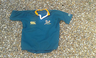 South African Rugby Players Training Shirt 2007 Springbok Xl