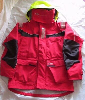 Gill OS1 Offshore Foul Weather Boating Jacket - Size XL - FREE SHIPPING!!!