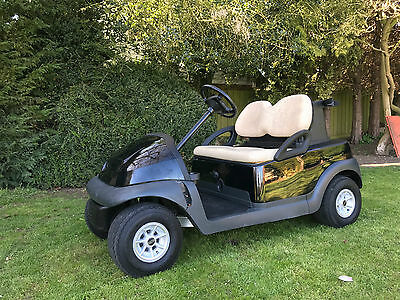 Club Car Precedent 48 Volt Electric Golf Car Golf Buggy Buggie **black**