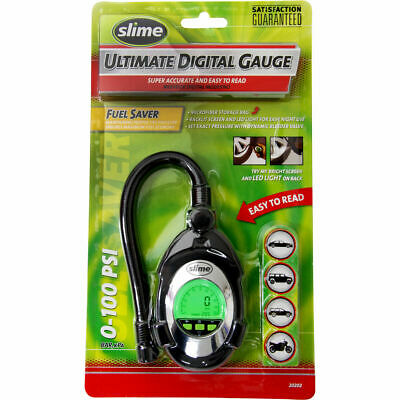 Slime Digital Deluxe Tyre Gauge - 0-100 PSI