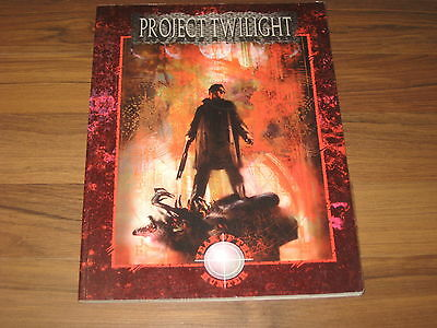 Werewolf The Apocalypse Project Twilight Sourcebook 1995 White Wolf WW3064