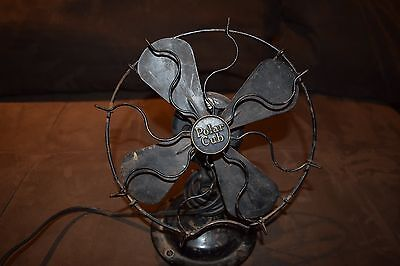 Antique Polar Cub Fan.  Tested and works but needs maintenance.