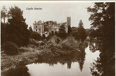 CASTLE ANTRIM IRELAND RP IRISH POSTCARD by MILTON
