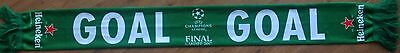 2017 JUVENTUS v REAL MADRID CHAMPIONS LEAGUE FINAL OFFICIAL VIP HEINEKEN SCARF