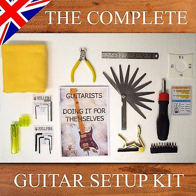 Guitar Setup Kit with step by step guide