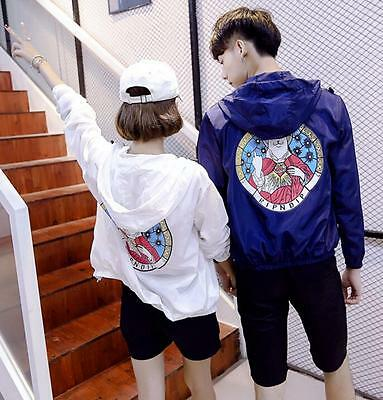 Unisex RIPNDIP Jacket Rip n Dip Windbreaker Cartoon Cat HipHop Sunscreen Soft