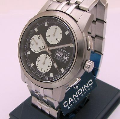 Candino Euromatic Chronograph Eta 7750, Nos Swiss Made