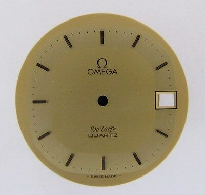 OMEGA De Ville Quarz mit Datum, Zifferblatt 29,5 mm NEU OLD STOCK swiss made