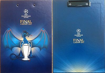 2017 JUVENTUS v REAL MADRID CHAMPIONS LEAGUE FINAL CLIPBOARD MINT