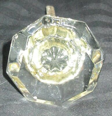 Antique Glass Clear Door Knob