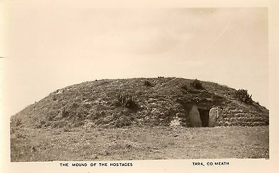 THE MOUND OF THE HOSTAGES TARA CO. MEATH IRELAND RP POSTCARD by PADRAIG KENNELLY